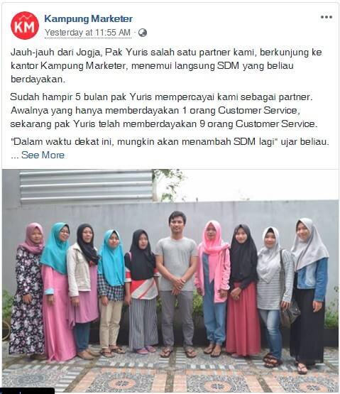 partner kampung marketer
