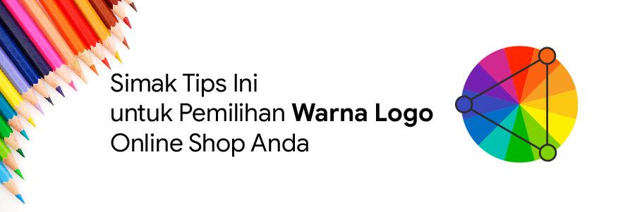 warna logo online shop