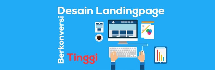 desain landing page