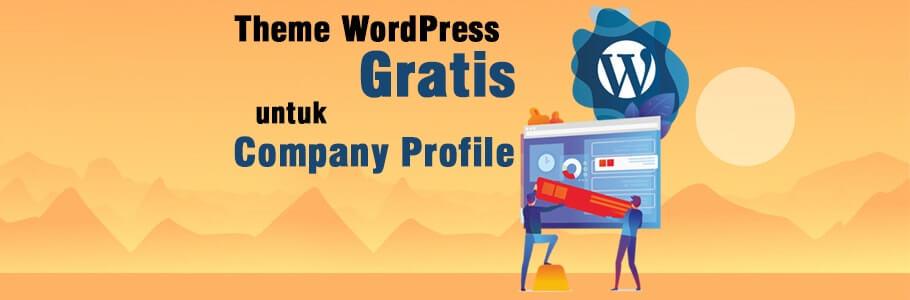 theme wordpress untuk company profile