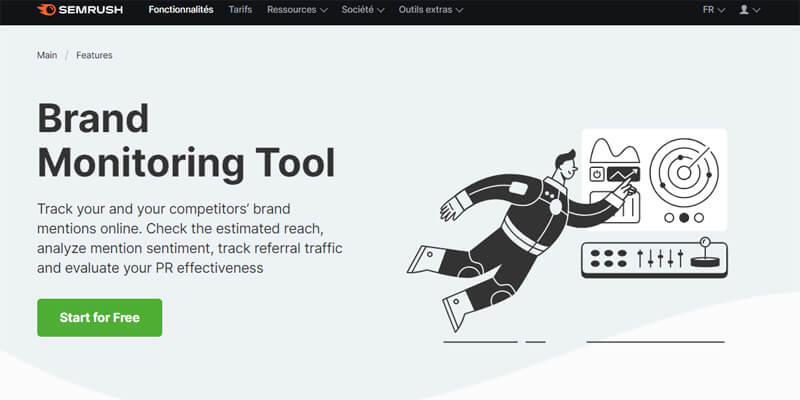 SEMRush Brand Monitoring