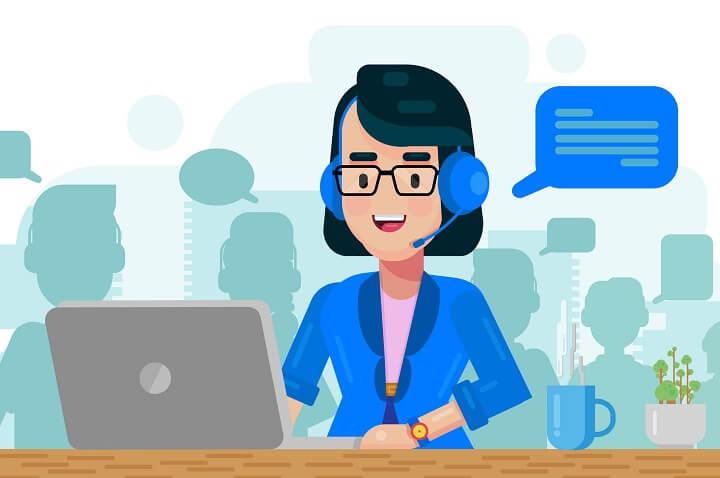 tugas customer service operator seluler
