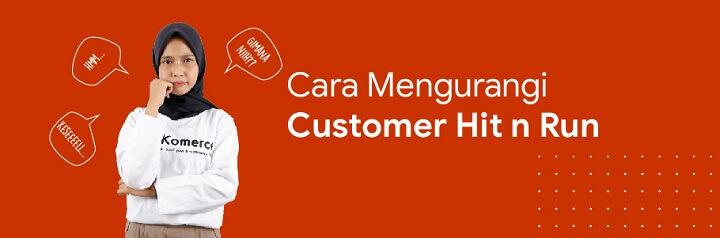 cara mengurangi customer hit and run
