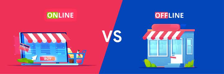 11 Perbedaan Pemasaran Online Dan Offline Blog Komerce