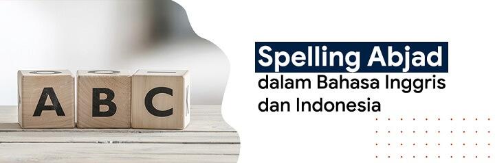 gambar spelling alphabet atau spelling abjad beserta penjelasannya